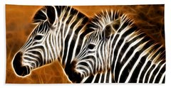 Zebra Brother Hand Towel