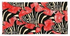 Zebra Fish 5 Hand Towel