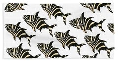 Zebra Fish 7 Hand Towel