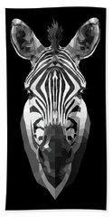 Zebra's Face Bath Towel