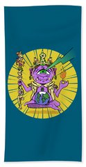 Bath Towel featuring the digital art Zen by Sotuland Art