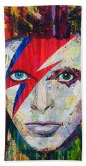 Ziggy Played Guitar Hand Towel