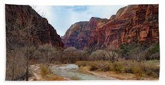 Zion Canyon Hand Towel