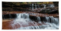 Zion Trail Waterfall Bath Towel