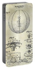 1927 Basketball Patent Drawing Portable Battery Charger