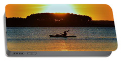 A Reason To Kayak - Summer Sunset Portable Battery Charger