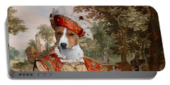 Basenji Art Canvas Print Portable Battery Charger