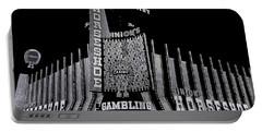 Binion's Horseshoe Casino Exterior Casino Center Las Vegas Nevada 1979-2014 Portable Battery Charger