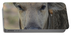Portable Battery Charger featuring the photograph  Buffalo by Michelle Meenawong