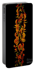 Bunch Of Flowers Portable Battery Charger by Michelle Meenawong