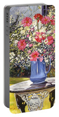 Camille's Garden Bouquet Portable Battery Charger