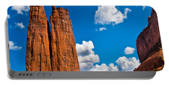 Canyon De Chelly Spider Rock Portable Battery Charger