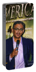 Dinesh D'souza America Imagine The World With Out Her  Portable Battery Charger