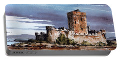 Doe Castle In Donegal Portable Battery Charger