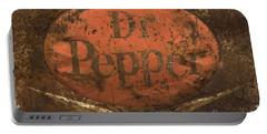 Dr Pepper Vintage Sign Portable Battery Charger