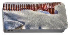 Fence Sculpture Portable Battery Charger