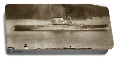 U. S. S. Lexington Cv-2 Fort Point Golden Gate San Francisco Bay California 1928 Portable Battery Charger