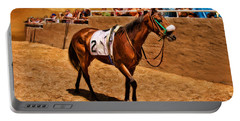 Horse Cava Kavia And His Fans Portable Battery Charger