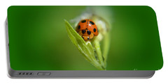 Ladybug Portable Battery Charger by Michelle Meenawong