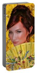 Miss Aao Daai Viet Nam Of California 2014 Anna Ha Portable Battery Charger