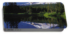 Portable Battery Charger featuring the photograph  Mount Hood Oregon  by Paul Fearn