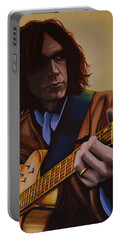 Neil Young Painting Portable Battery Charger