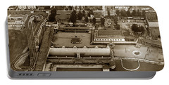 Neptune Beach Olympic Size Swimming Pool And A Roller Coaster Alameda Circa 1920 Portable Battery Charger
