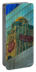 Portable Battery Charger featuring the photograph  Office For Sale by Michelle Meenawong