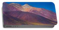 Painted Atacama Portable Battery Charger