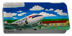 Portsmouth Ohio Airport And Lake Central Airlines Portable Battery Charger