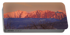 Radiant Ragged Mountain Evening Co II Portable Battery Charger