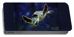 Portable Battery Charger featuring the photograph  Sea Turtle by Savannah Gibbs