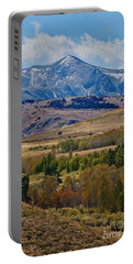 Portable Battery Charger featuring the photograph  Sierras Mountains by Mae Wertz