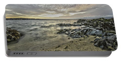 Skerries Ocean View Portable Battery Charger by Martina Fagan