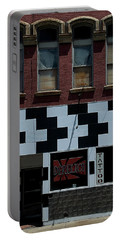 Portable Battery Charger featuring the photograph  Tattoo Parlor Elmira by Steven Richman