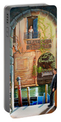 Thinking Of You Trattoria Sempione San Marco 578 Venezia Portable Battery Charger