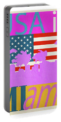 Usa Is Miami Portable Battery Charger