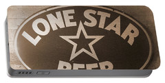 Vintage Sign Lone Star Beer Portable Battery Charger
