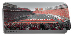 0096 Badger Football Portable Battery Charger