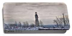 01 Winter Light House Portable Battery Charger