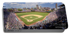 0100 Wrigley Field - Chicago Illinois Portable Battery Charger