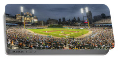 0101 Comerica Park - Detroit Michigan Portable Battery Charger