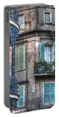 0254 French Quarter 10 - New Orleans Portable Battery Charger by Steve Sturgill