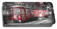 0271 Canal Street Trolley - New Orleans Portable Battery Charger