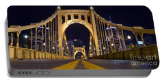 0304 Roberto Clemente Bridge Pittsburgh Portable Battery Charger