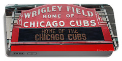 0334 Wrigley Field Portable Battery Charger by Steve Sturgill