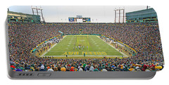 0349 Lambeau Field Panoramic Portable Battery Charger