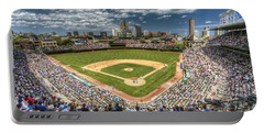 0443 Wrigley Field Chicago  Portable Battery Charger