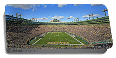 0539 Lambeau Field Portable Battery Charger