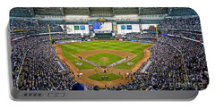 0546 Nlds Miller Park Milwaukee Portable Battery Charger